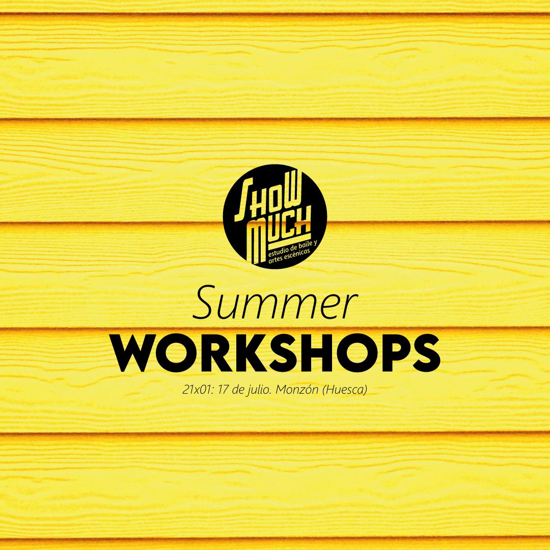 Summer Workshops en Show Much