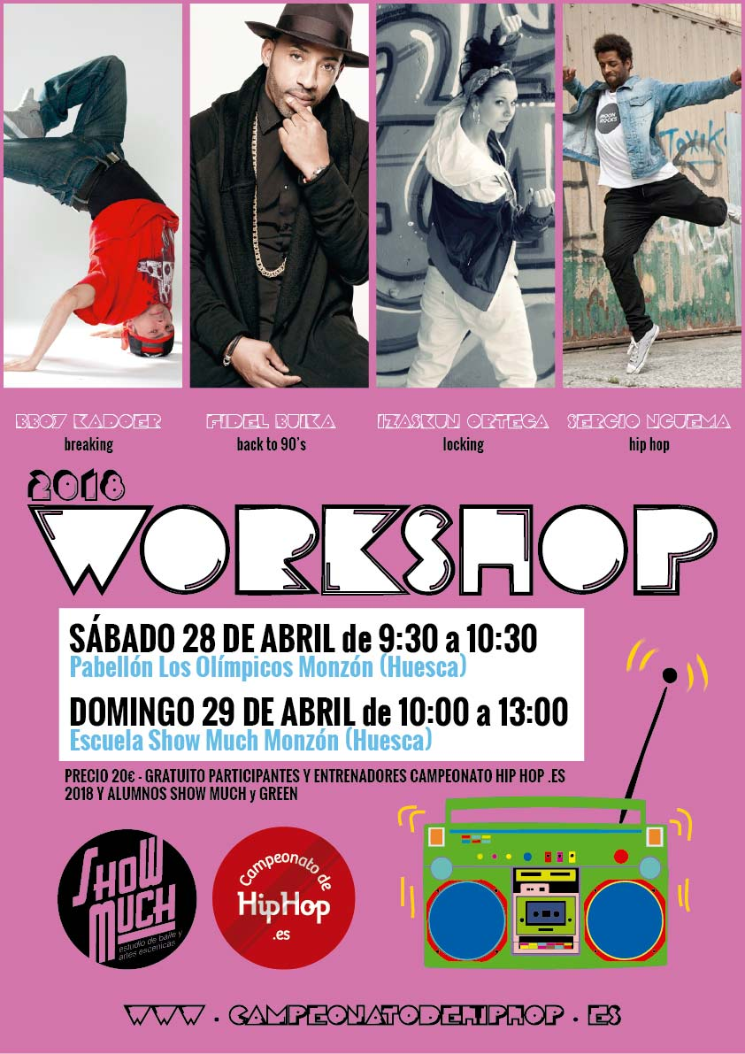 Whorkshops Hip Hop 2018