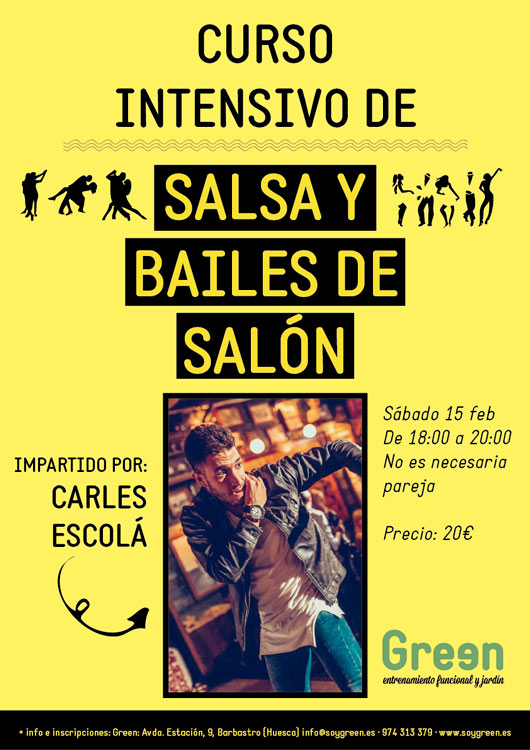 Intensivo Salsa y Bailes de Salón FEB
