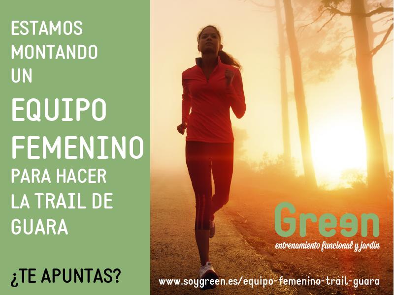 Equipo Femenino Trail de Guara